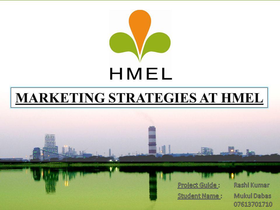 MARKETING STRATEGIES AT HMEL