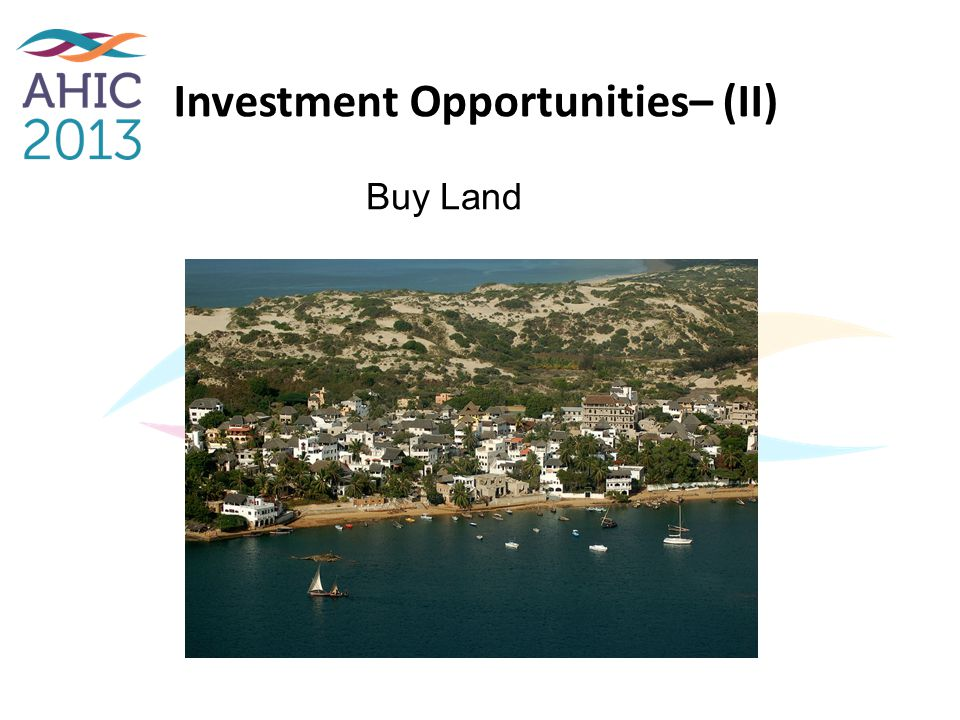 Investment Opportunities– (II)