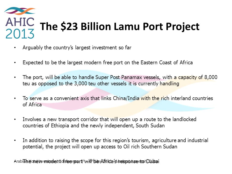 The $23 Billion Lamu Port Project
