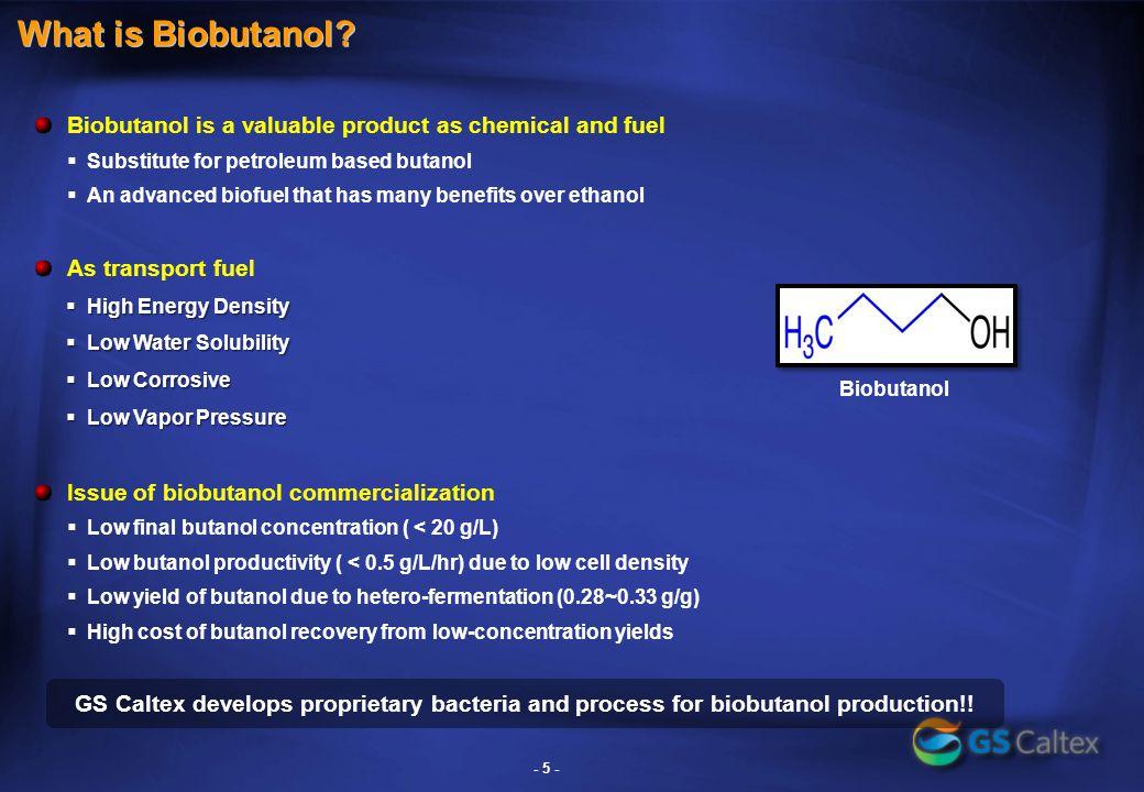 Biobutanol Development-Microbe