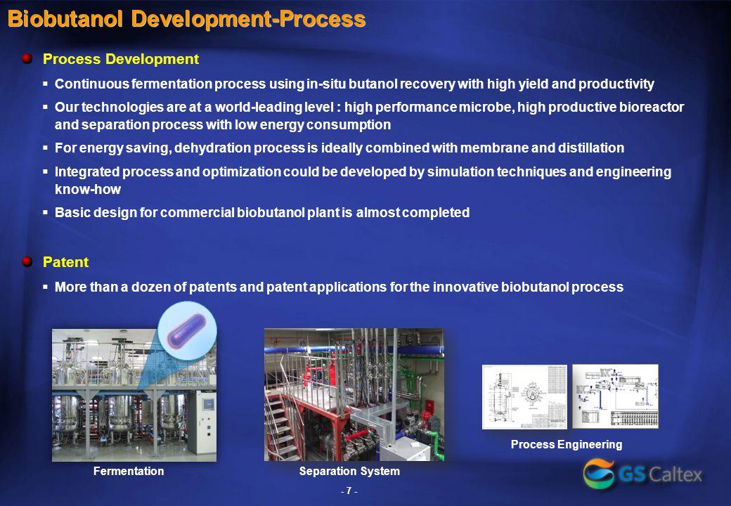 Biobutanol Pilot Plant