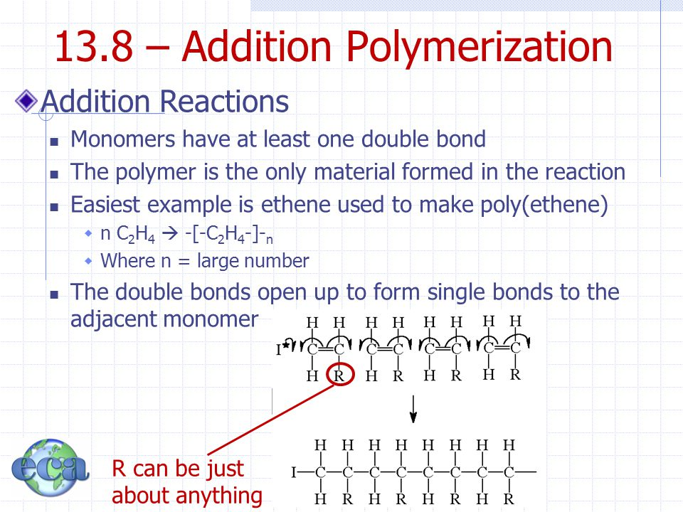13.8 – Addition Polymerization