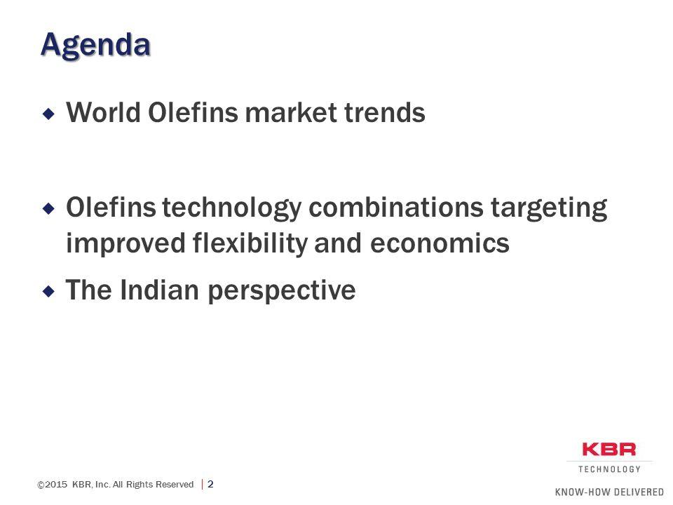 Agenda World Olefins market trends