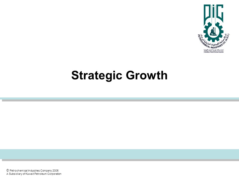 Strategic Growth
