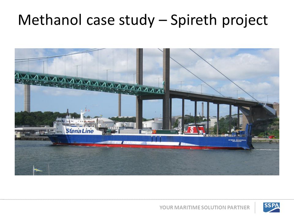 Methanol case study – Spireth project