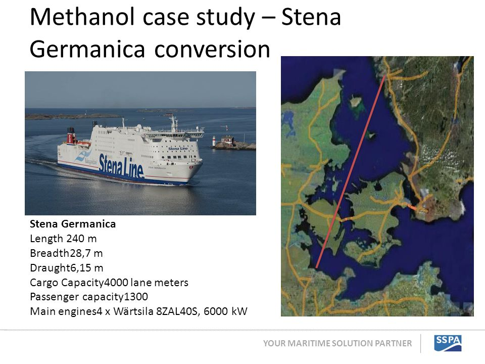 Methanol case study – Stena Germanica conversion
