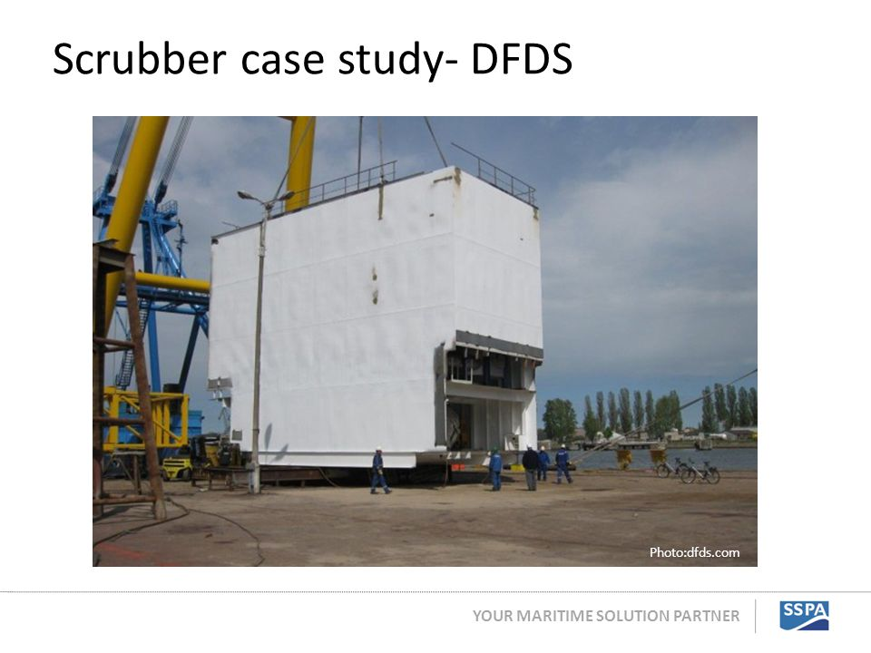 Scrubber case study- DFDS