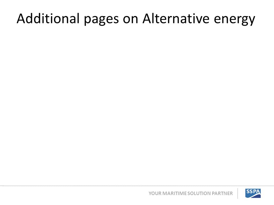 Additional pages on Alternative energy