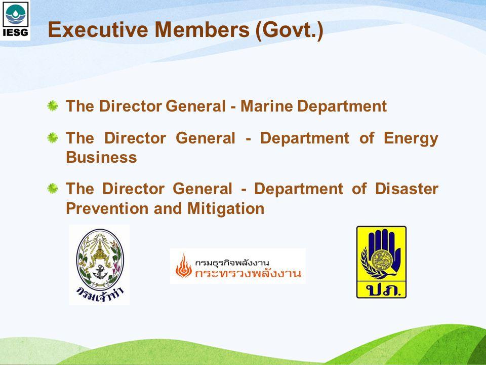 Executive Members (Govt.)