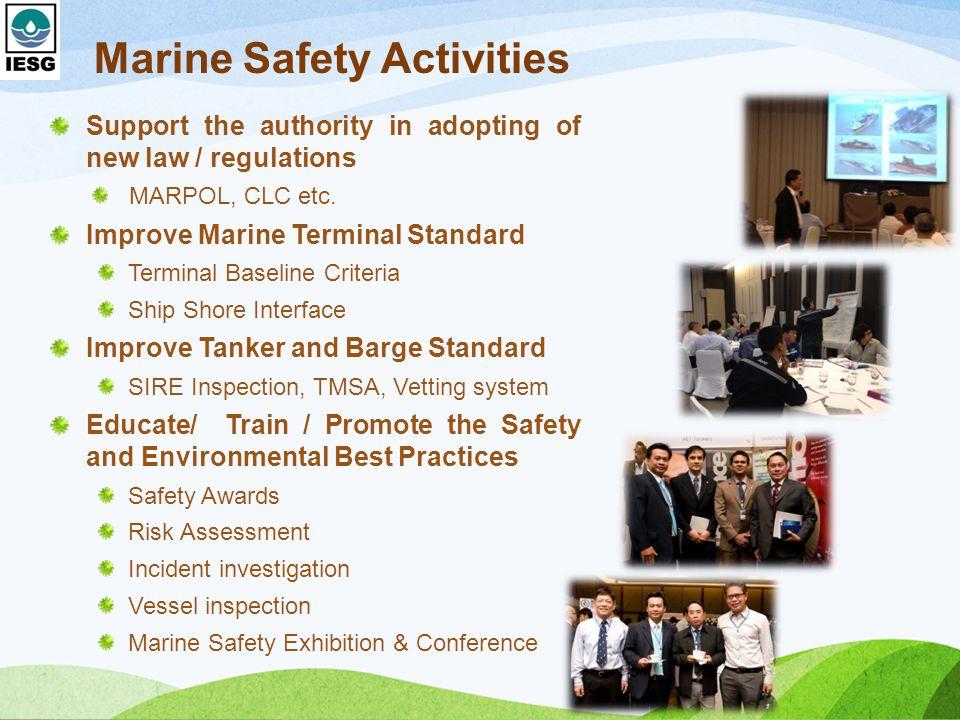Marine Safety Activities