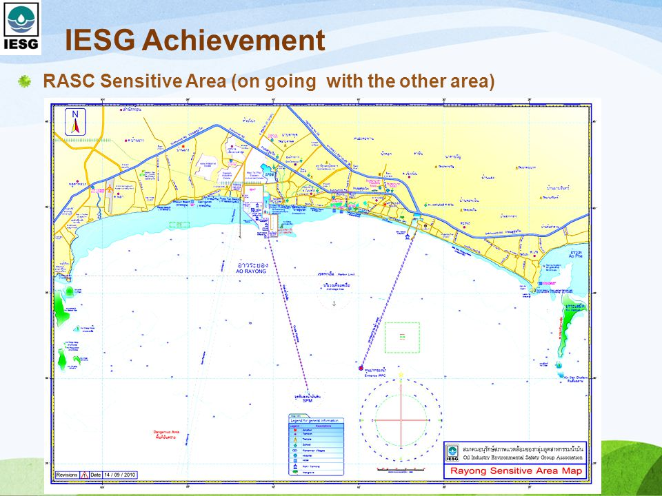 IESG Achievement RASC Sensitive Area (on going with the other area)