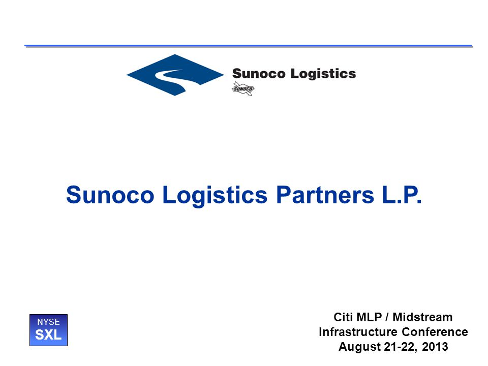 Sunoco Logistics Partners L.P.