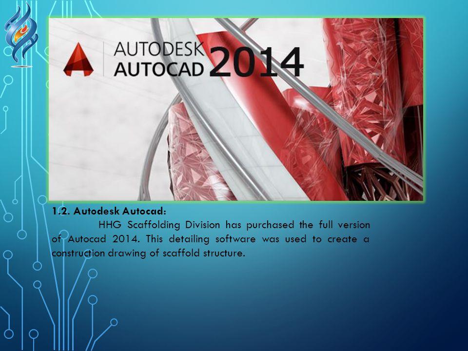1.2. Autodesk Autocad: