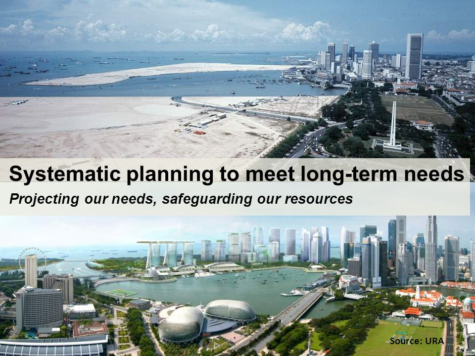 Systematic planning to meet long-term needs