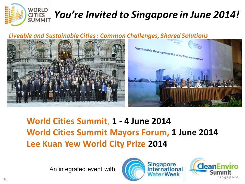 You're Invited to Singapore in June 2014!