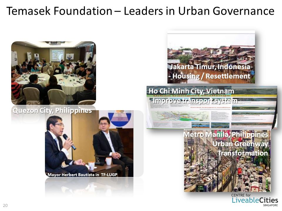 Temasek Foundation – Leaders in Urban Governance