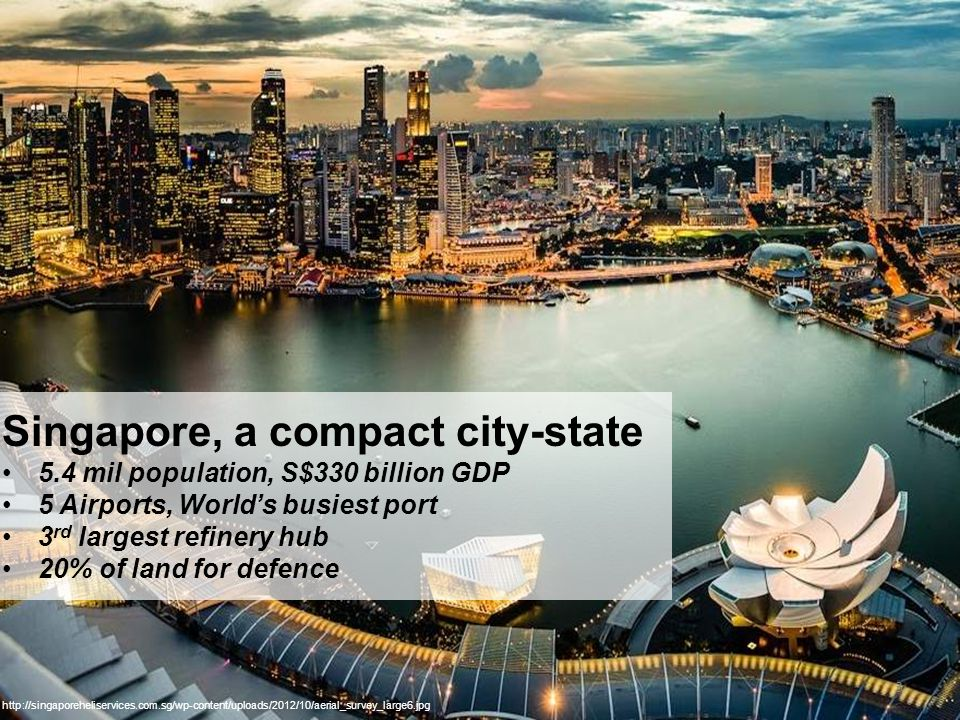 Singapore, a compact city-state