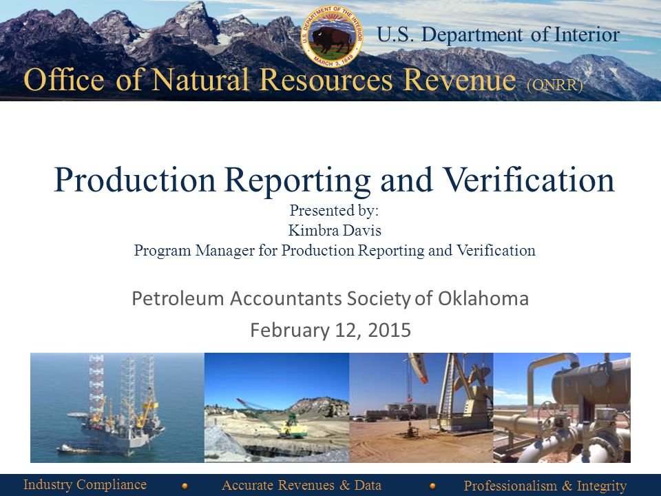 Petroleum Accountants Society of Oklahoma February 12, 2015