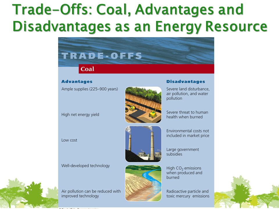 Trade-Offs: Coal, Advantages and Disadvantages as an Energy Resource
