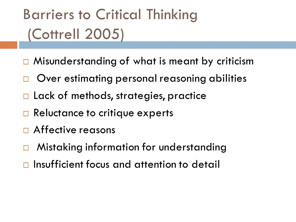 How To Use Critical Thinking