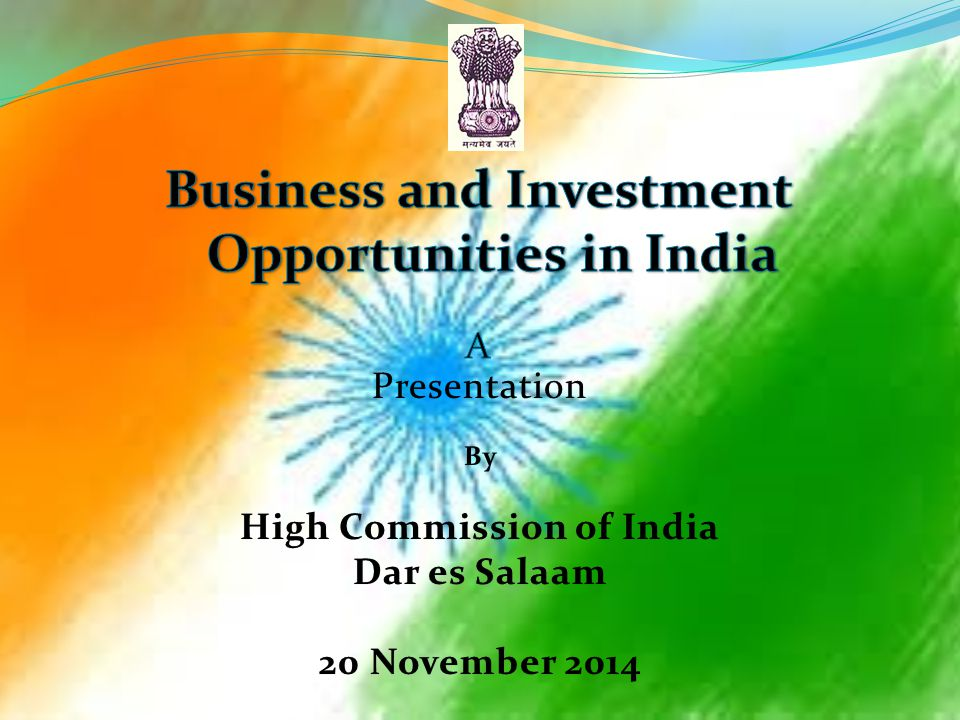 Business and Investment Opportunities in India