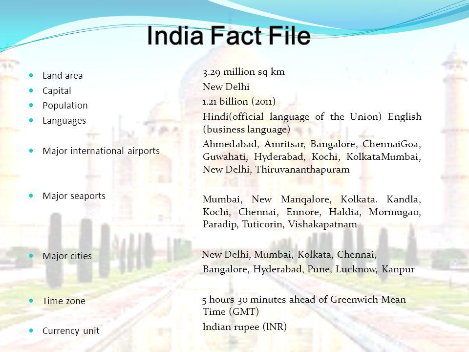 India Fact File