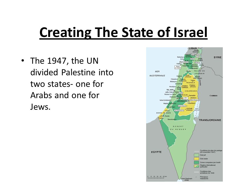 Creating The State of Israel