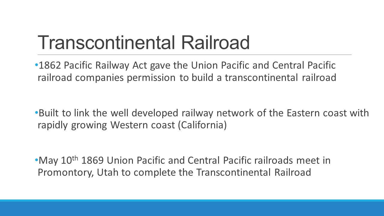 Transcontinental Railroad