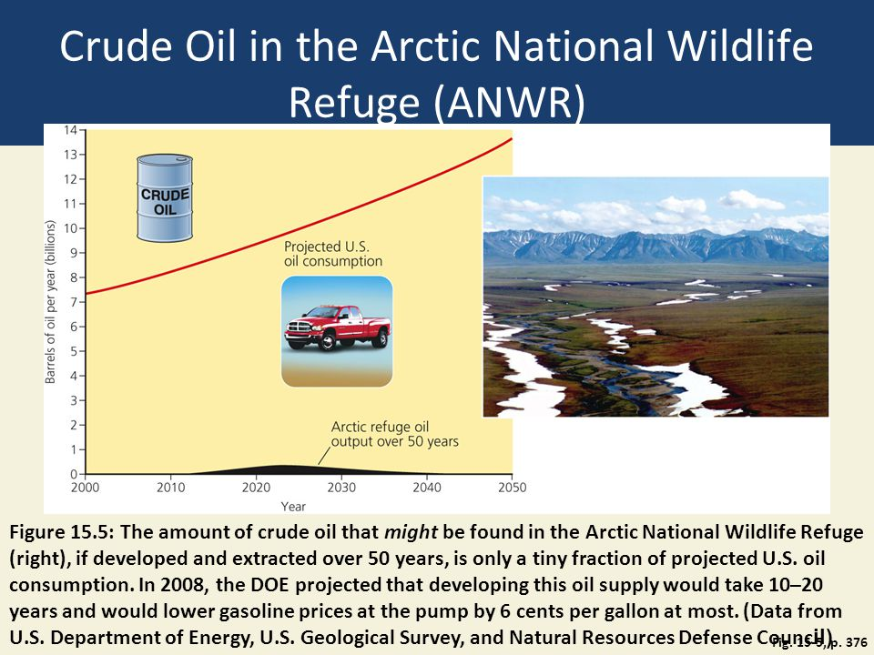 Crude Oil in the Arctic National Wildlife Refuge (ANWR)