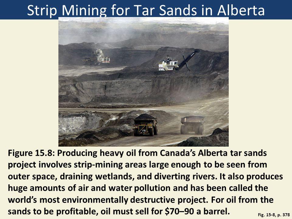 Strip Mining for Tar Sands in Alberta