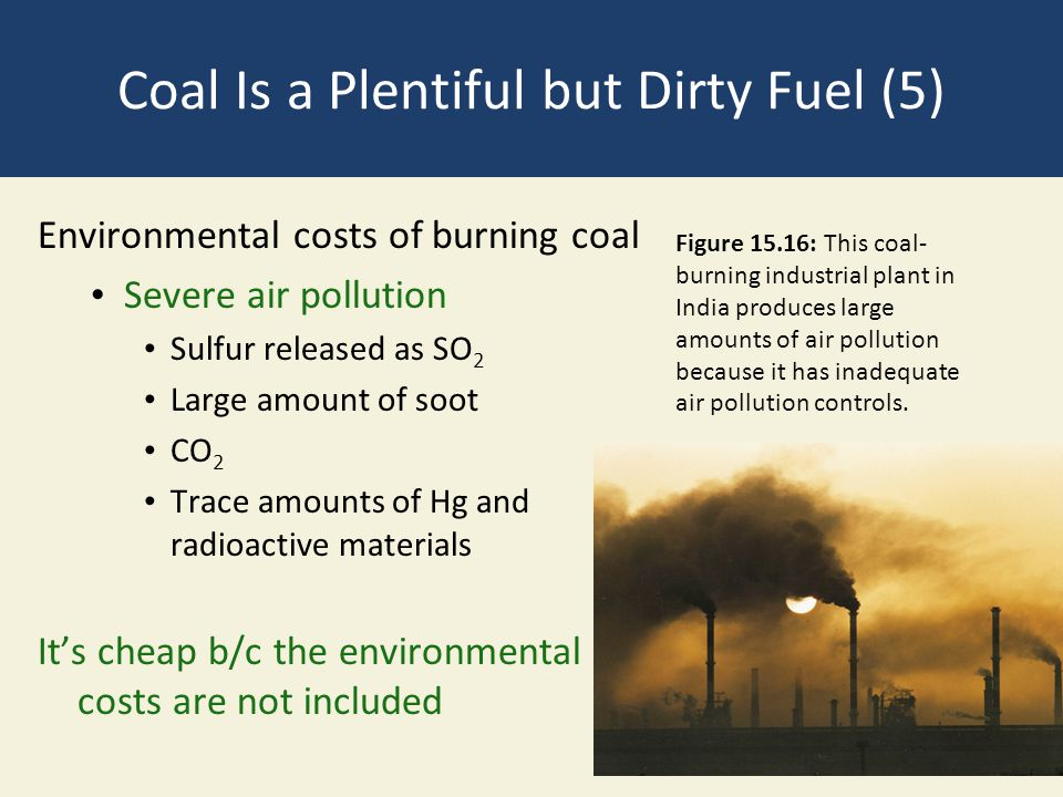 Coal Is a Plentiful but Dirty Fuel (5)
