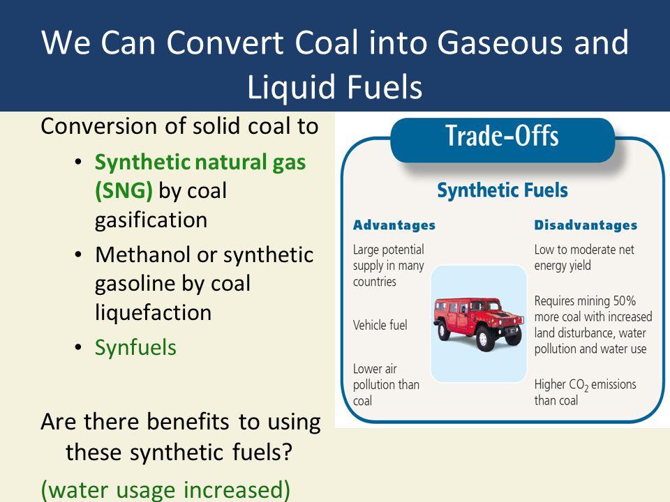 We Can Convert Coal into Gaseous and Liquid Fuels