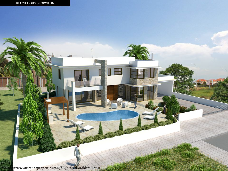 BEACH HOUSE - OROKLINI hhttp://www.africanosproperties.com/EN/project/oroklini-house