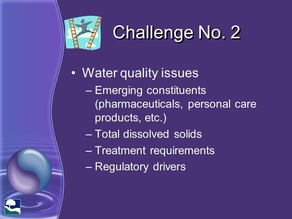 Challenge No. 2 Water quality issues