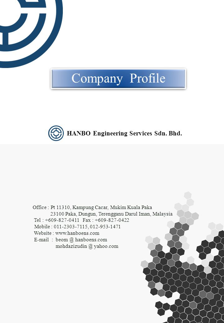 HANBO Engineering Services Sdn. Bhd. (1054377-T)