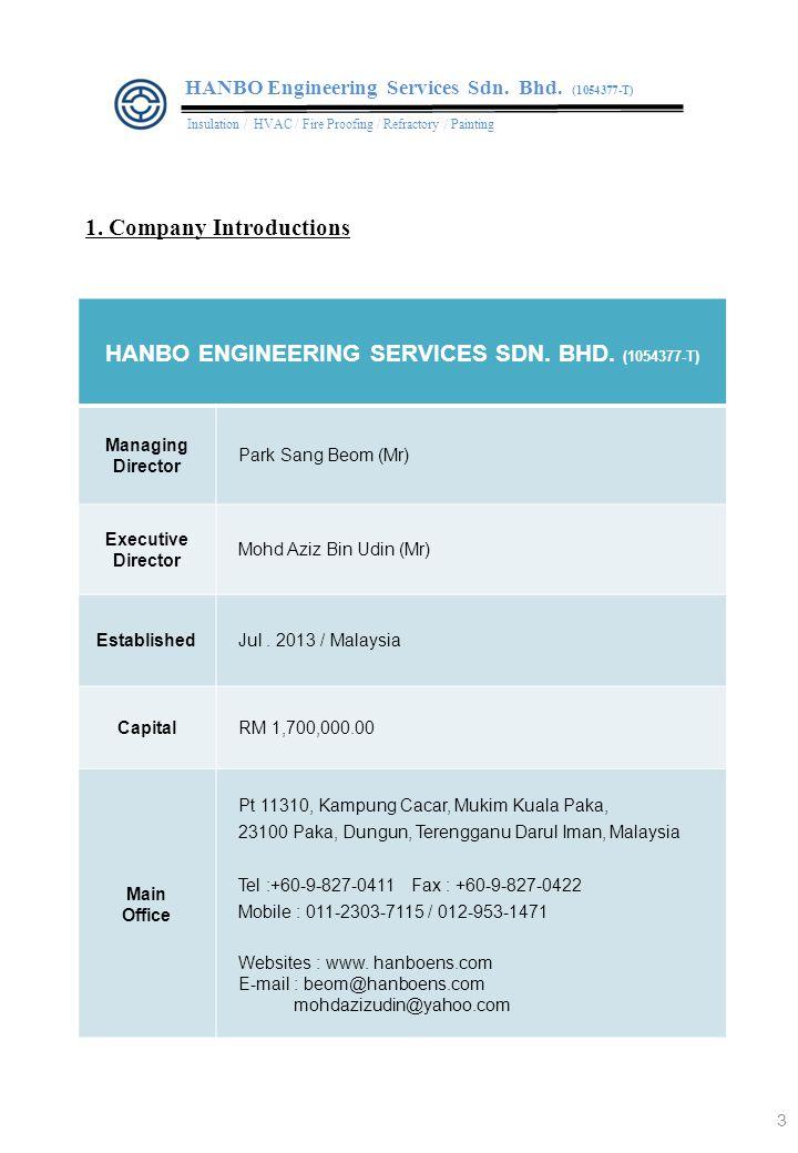 2. Major Business Activities