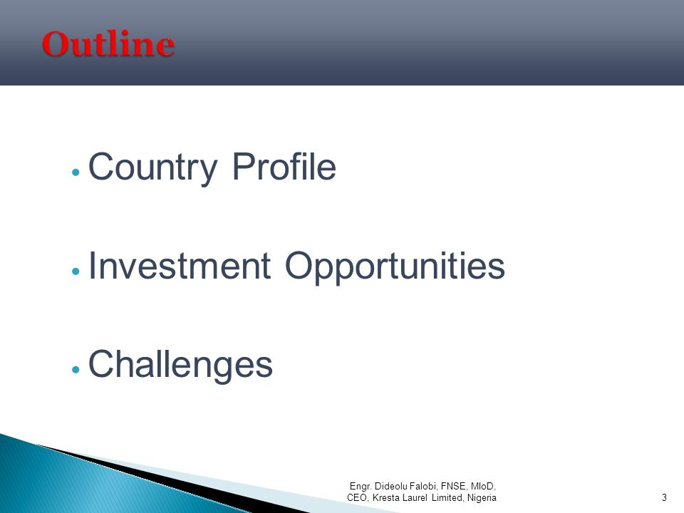 Investment Opportunities Challenges