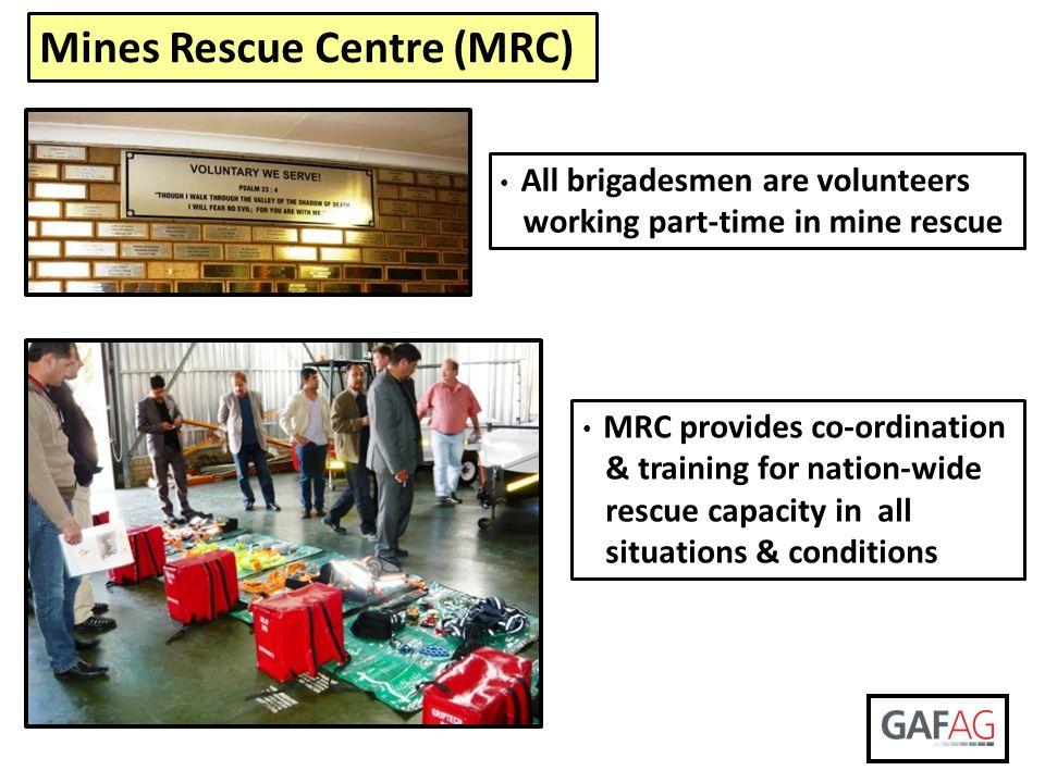 Mines Rescue Centre (MRC)