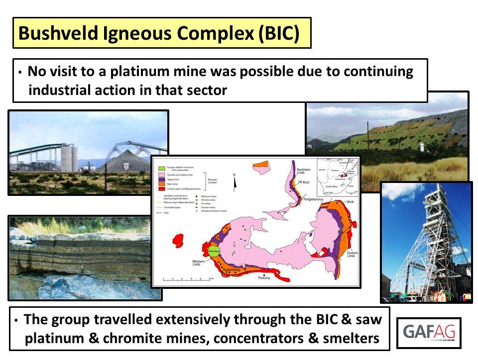 Bushveld Igneous Complex (BIC)
