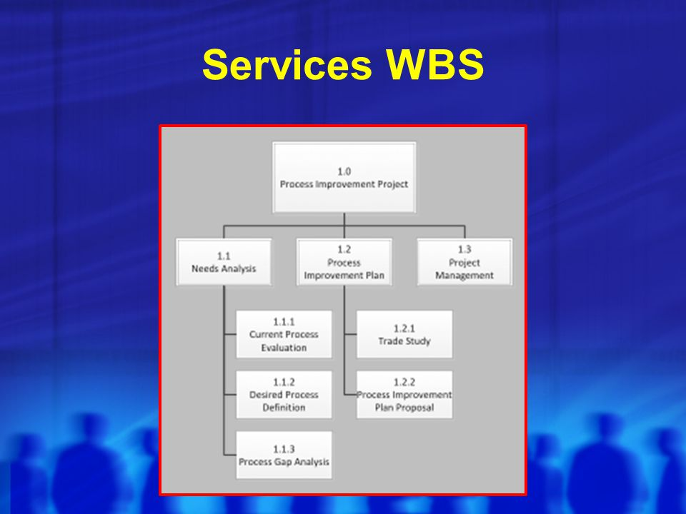 Services WBS