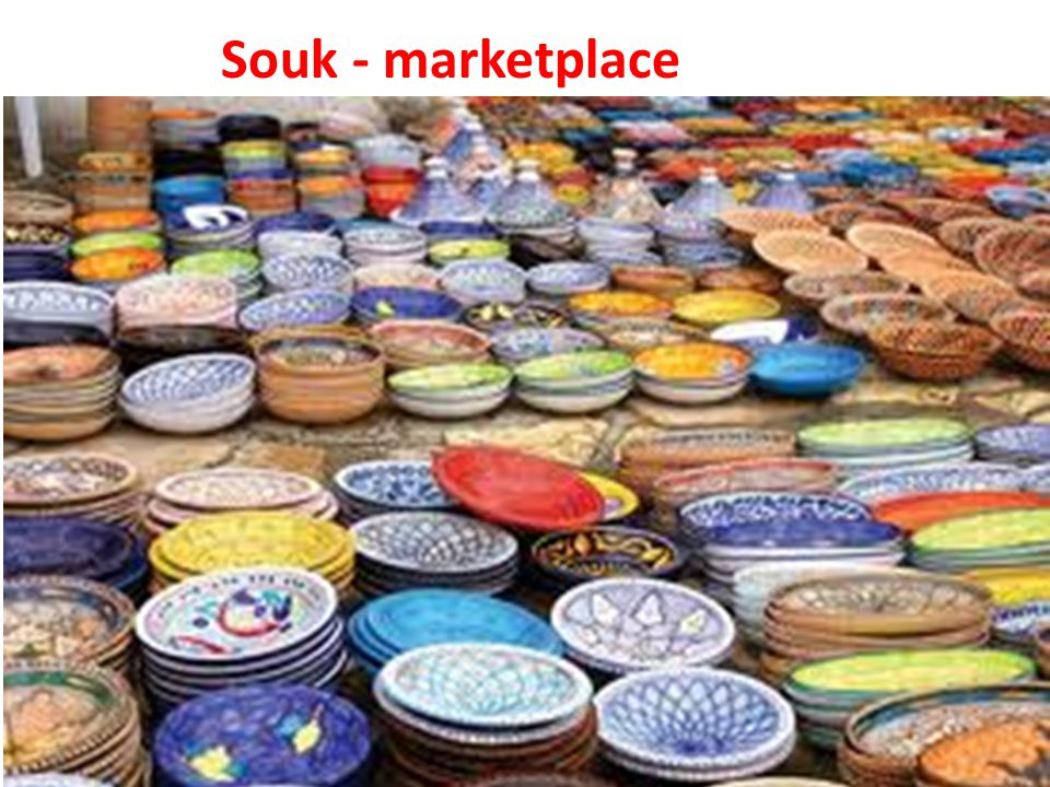 Souk - marketplace