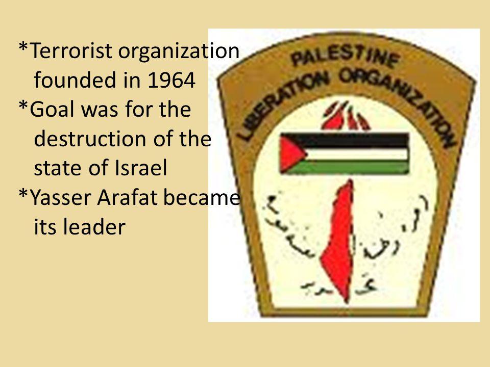 *Terrorist organization