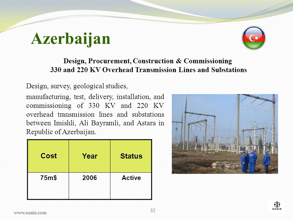 Azerbaijan Design, Procurement, Construction & Commissioning