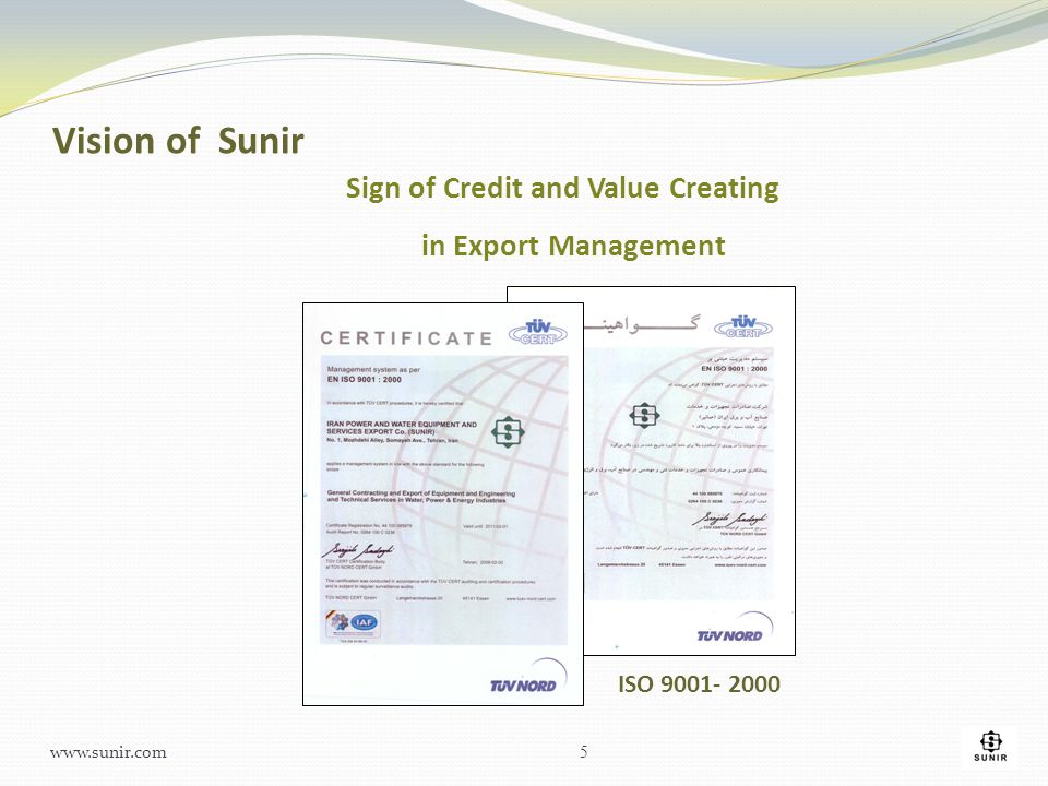 Sign of Credit and Value Creating in Export Management