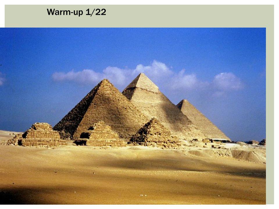 Warm-up 1/22