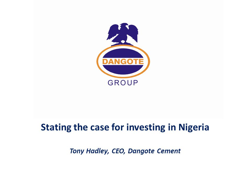 Stating the case for investing in Nigeria