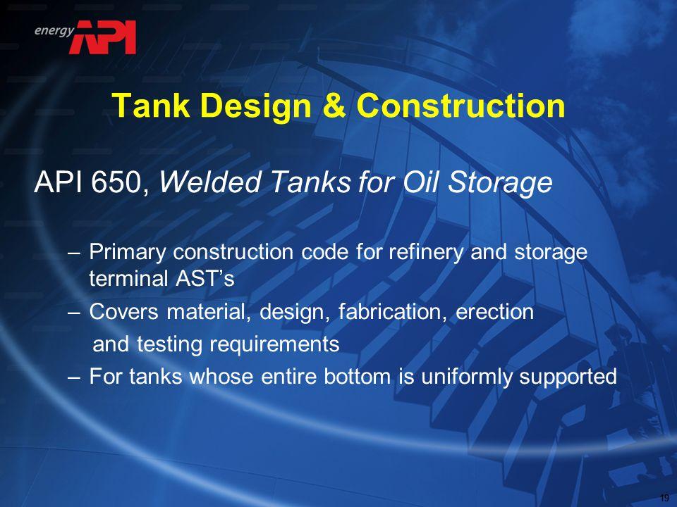 Tank Design & Construction