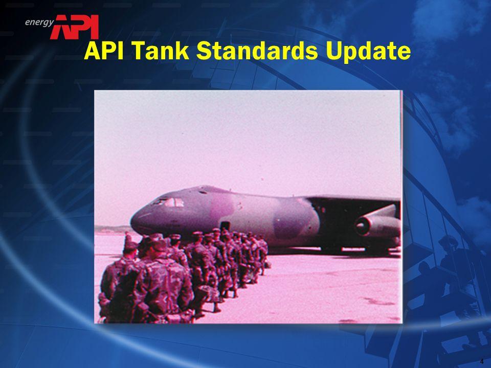 API Tank Standards Update