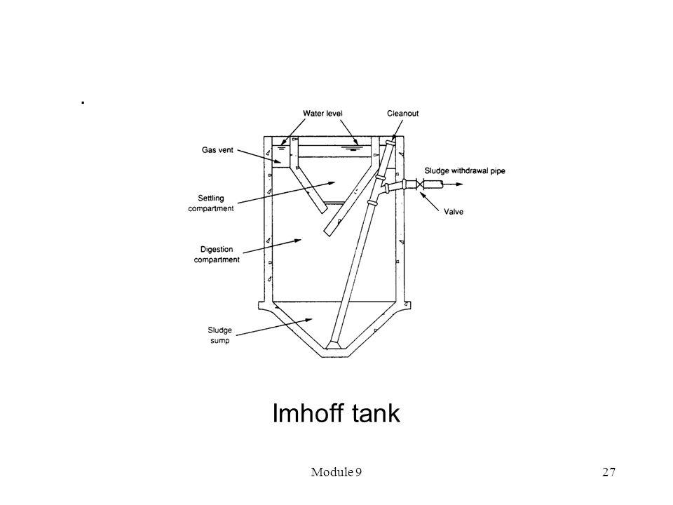 . Imhoff tank Module 9