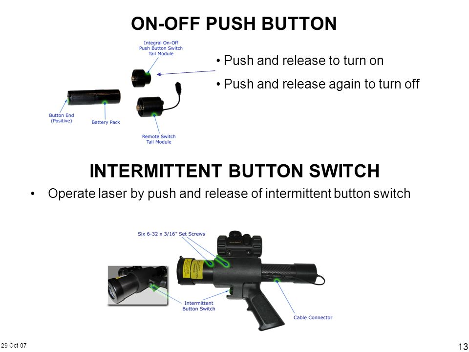 INTERMITTENT BUTTON SWITCH